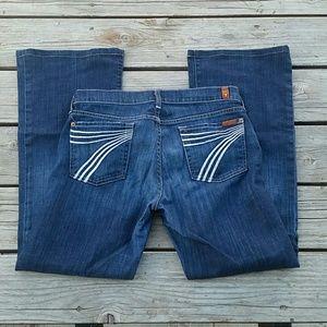 7 For All Mankind Dojo Womens Jeans Sz 30